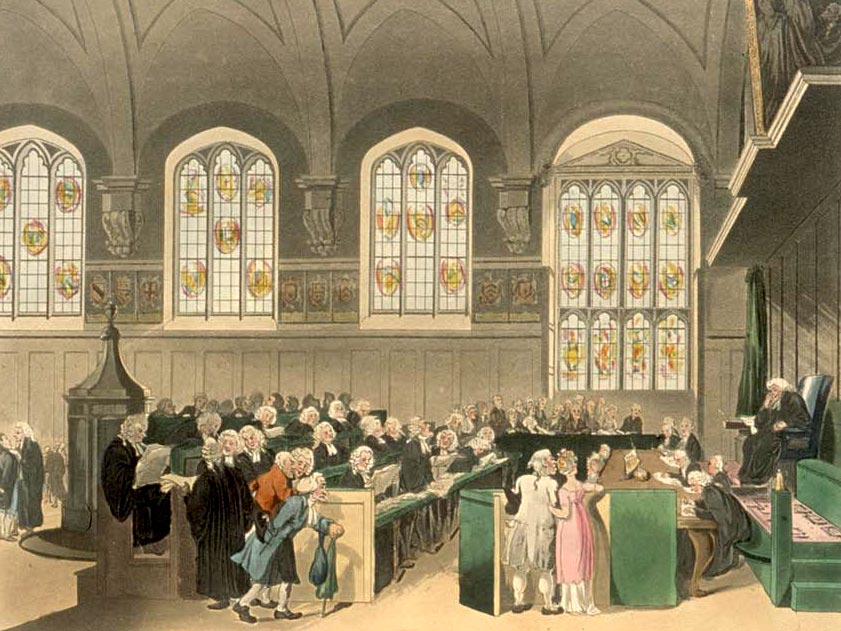 "The court of chancery, which governed fiduciary relations in England prior to the Judicature Acts. h/t Wikipedia article ""Fiduciary""."