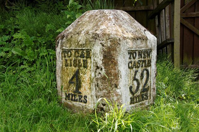 milestone marker